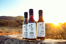Load image into Gallery viewer, Seed Ranch - Peach Cayenne (Medium) - Tangy, Buffalo Style Organic Gourmet Hot Sauce - Plant Based, Gluten Free, Low Carb, Paleo, Whole30 Compliant