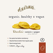 Load image into Gallery viewer, Anatomico Superfood Organic Healthy Pasta (Turmeric, Single)