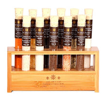 Load image into Gallery viewer, Gourmet Sea Salt Sampler No. 2 - A collection of 11 Finishing Salts