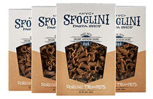 Load image into Gallery viewer, Sfoglini Organic Porcini Trumpets Pasta, Earthy Mushroom, 4 Count, 16 Ounce