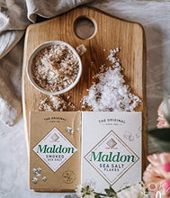 Load image into Gallery viewer, Maldon Salt, Sea Salt Flakes, 8.5 oz (240 g), Kosher, Natural, Handcrafted, Gourmet, Pyramid Crystals