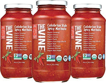 Load image into Gallery viewer, The Vine Calabrian Spicy Marinara, Low Sodium, 3-pack