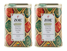 Load image into Gallery viewer, ZOE Organic Extra Virgin Olive Oil, 25.5 oz Tin (Pack Of 2)