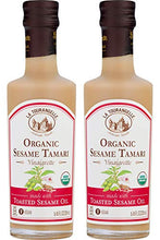 Load image into Gallery viewer, La Tourangelle Organic Sesame Tamari Vinaigrette, 8.45 fl. oz., 2-Bottle Pack, Salad Dressing and Marinade, Made with Organic Toasted Sesame Oil, Gluten-Free, Low Sodium, Naturally Sugar Free, 2 Count
