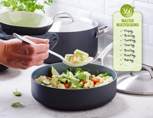 Load image into Gallery viewer, GreenPan Paris Pro 11pc Ceramic Non-Stick Cookware Set