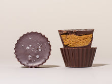 Load image into Gallery viewer, Dark Chocolate Peanut Butter Cups with Maldon Sea Salt - Box of Two
