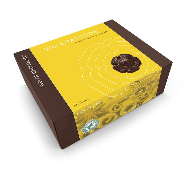 Wei Gratitude Chai Dark Chocolate