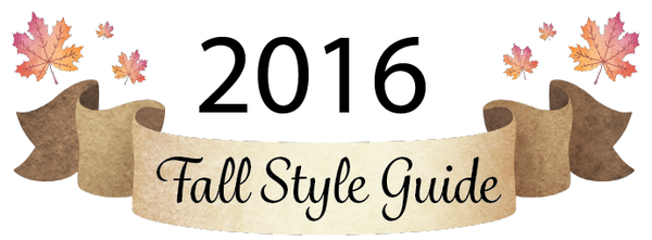 2016 Fall Style Guide