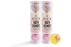 Image of 2x Bath Bomb 4-Pack Bundles + 1 FREE Bath Bomb