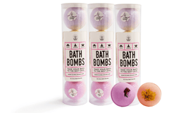 Image of 3x Bath Bomb Bundles + 2 FREE Bath Bombs