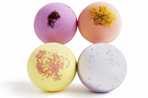 2x Bath Bomb 4-Pack Bundles + 1 FREE Bath Bomb