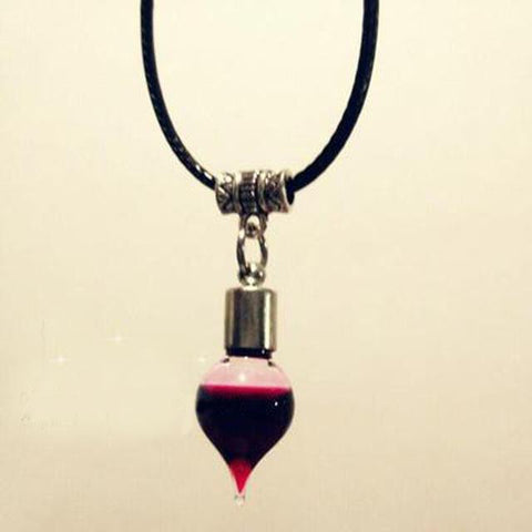 Vintage Vampire Diaries Pendant Black Lace Choker Necklace