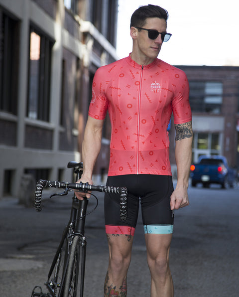 Coral Shapes Jersey