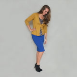 Lined Stretch Pencil Skirts
