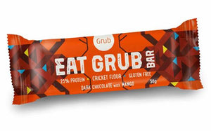 Grub to launch Kickstarter campaign for cricket snack bar... GROSS but interesting