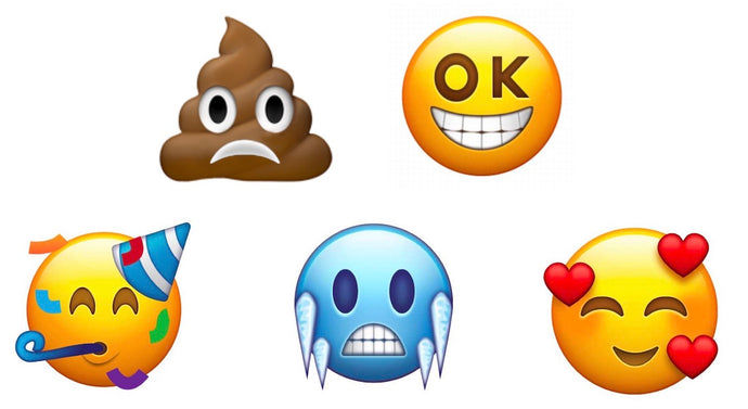 New emojis for 2018