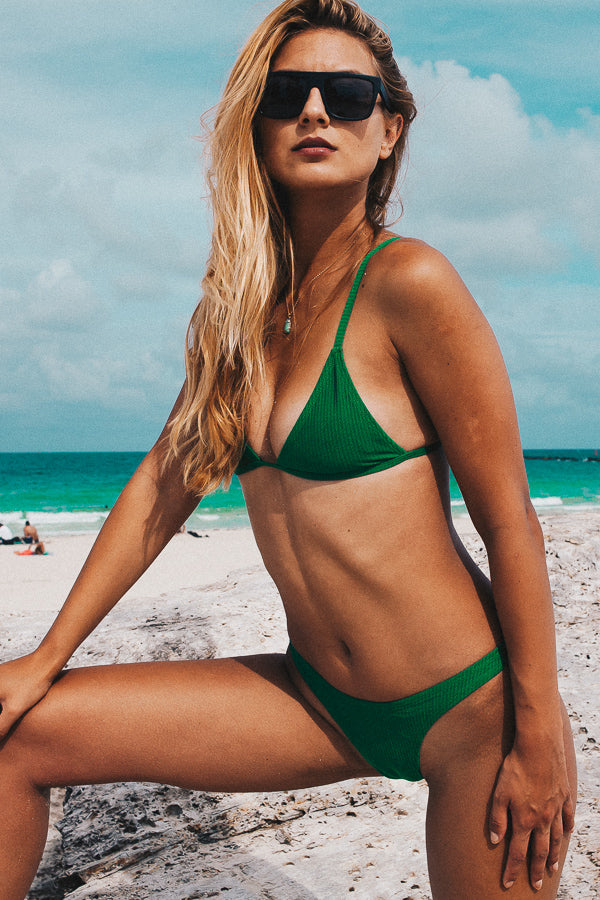 The ALONDRA Bikini Ribbed