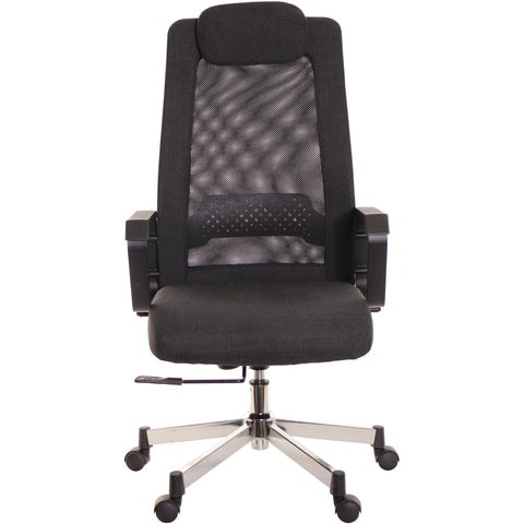 Black Mesh Task Office Chair by TimeOffice