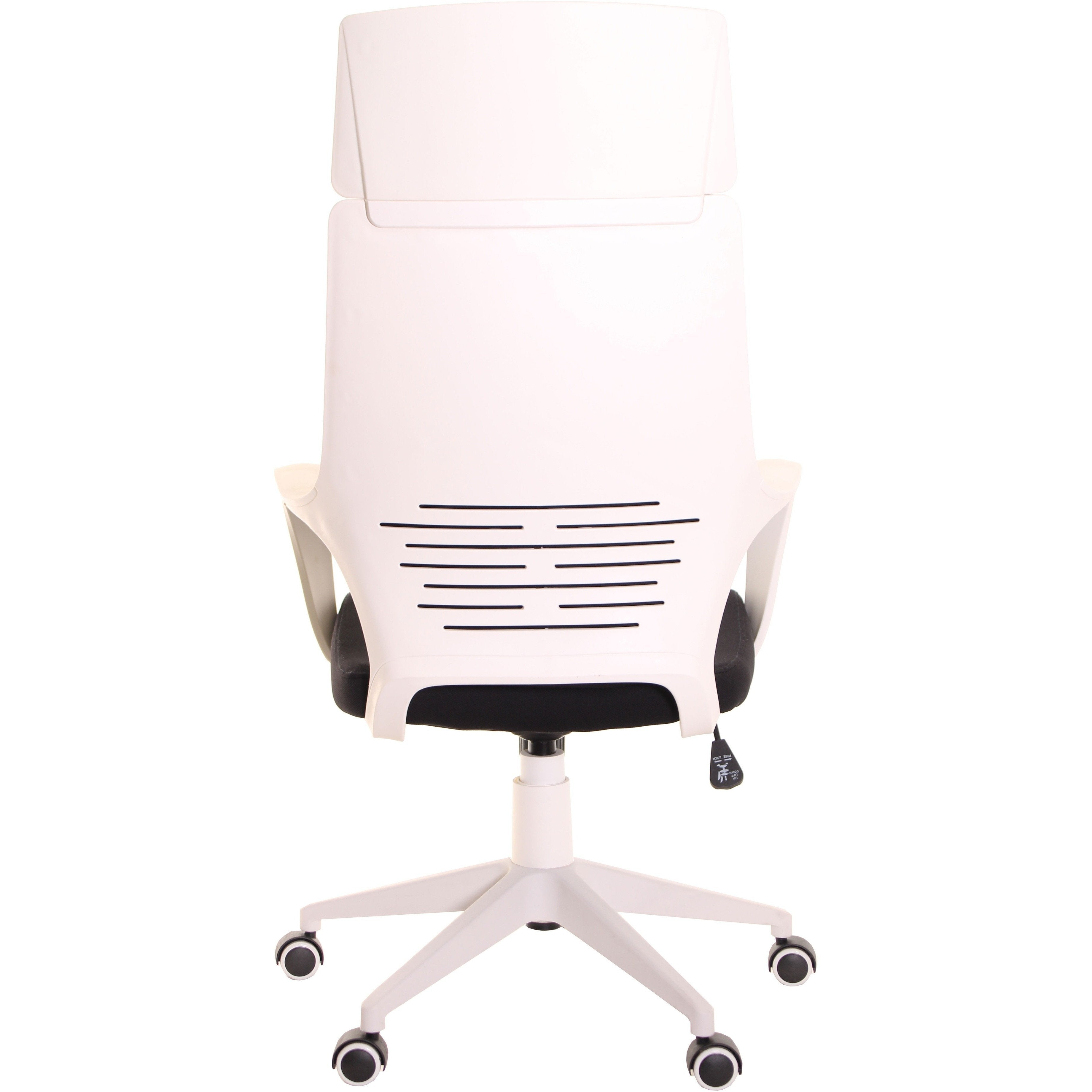 Modern Ergonomic Office Chair Black White by TimeOffice Time