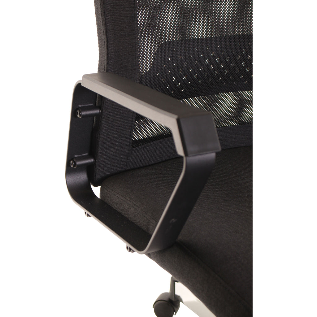 Black Mesh Task Office Chair by TimeOffice - Time Office Furniture