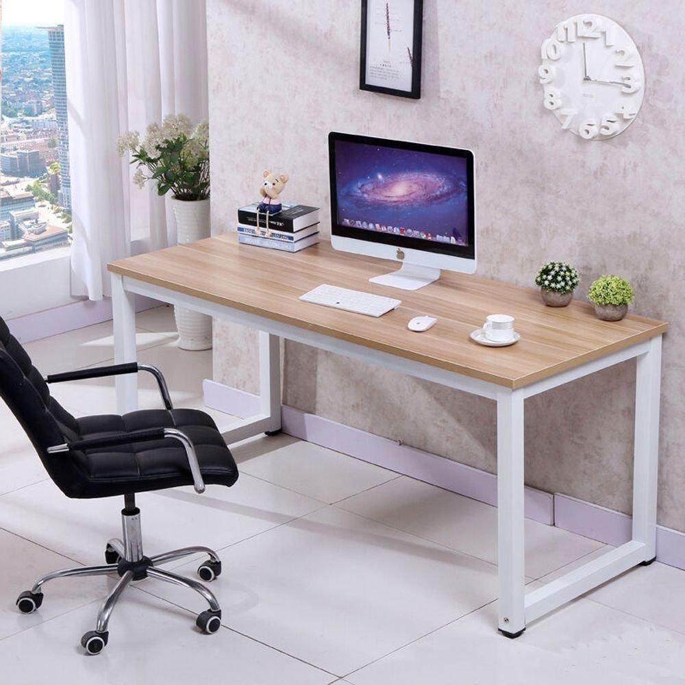 home office work desk. Computer Desk PC Laptop Table Wood Work-Station Study Home Office Furniture Work O