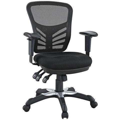 Ergonomic Black Mesh Chair - Time Office Furniture