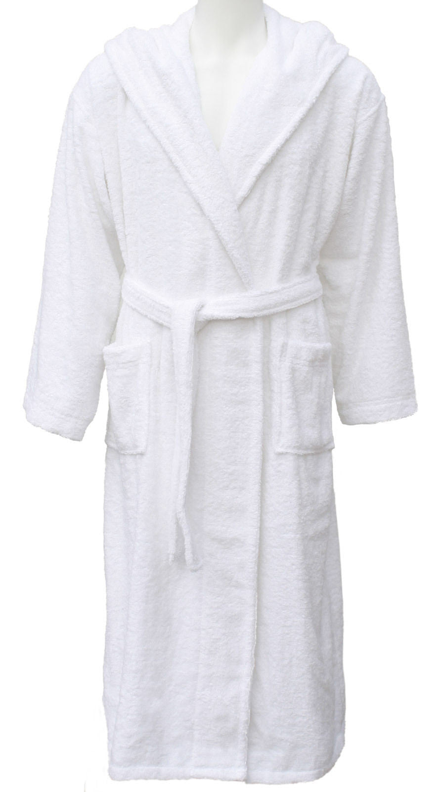 100% Cotton Combed Terry Towelling Bathrobe Dressing Gown Mens ...