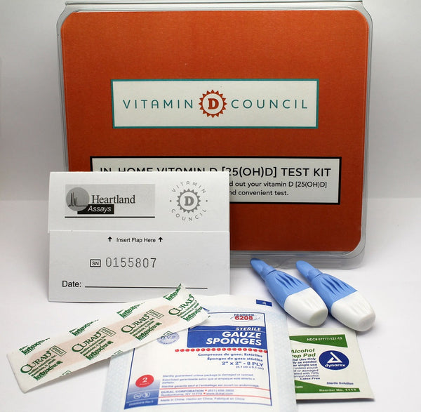 In-home vitamin D test kit