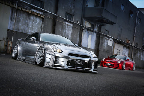 R35 GT-R WIDE-BODY KIT VER.1 COMPLETE KIT