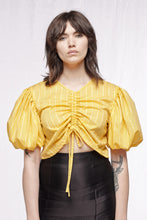 LOVERS TOP - Limited edition yellow stripes