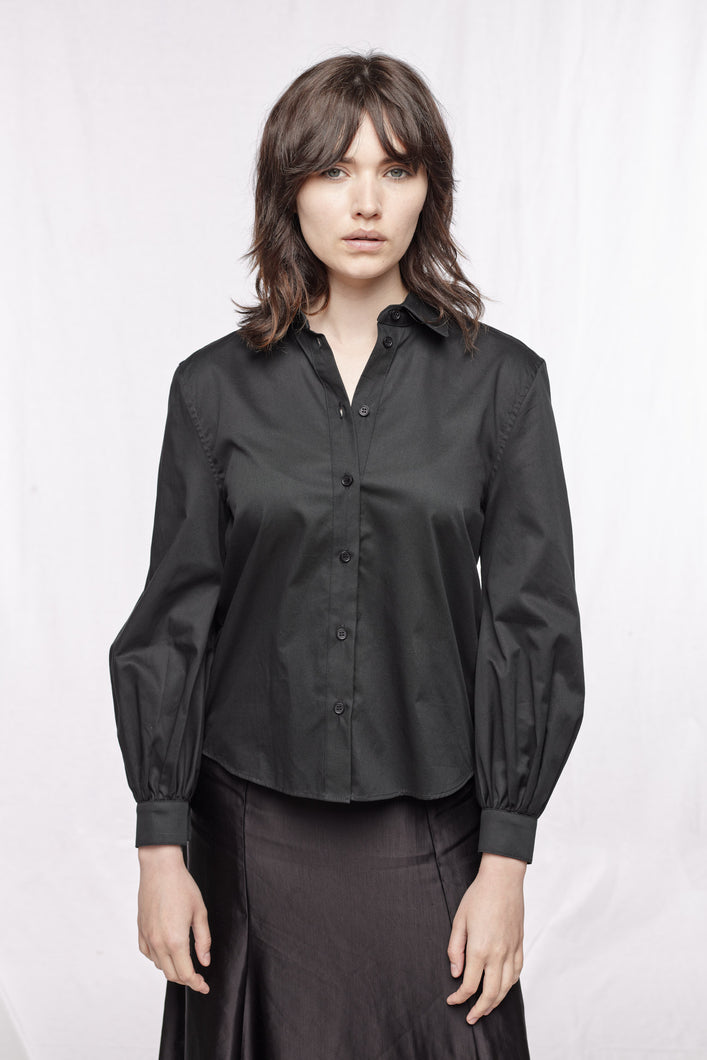CATHERINE SHIRT - Black