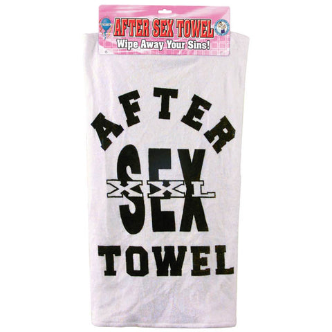 After Sex Towel