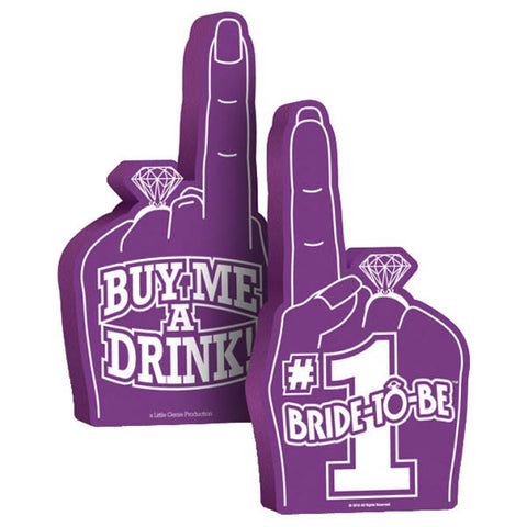 Bride To Be Foam Hand
