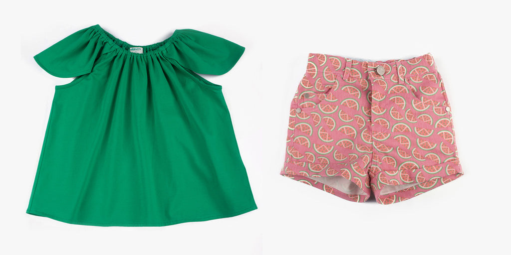 Tulip Top and Watermelon Short Bundle Deal