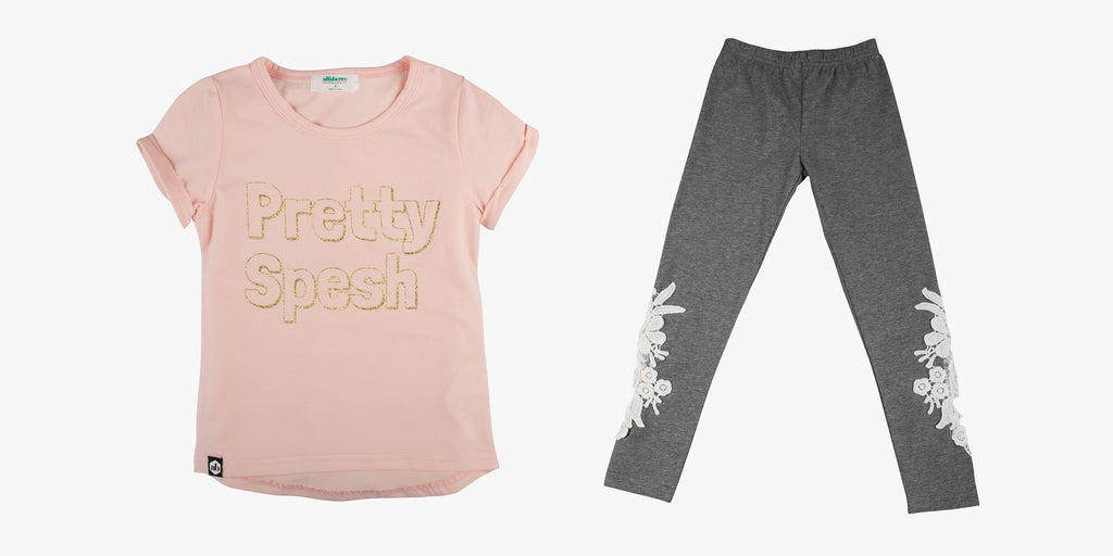 Pretty Spesh Tee and Lace Legging Bundle Deal
