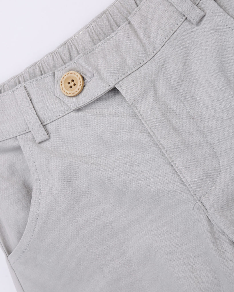 Here To Stay Chino In Chalk Detail