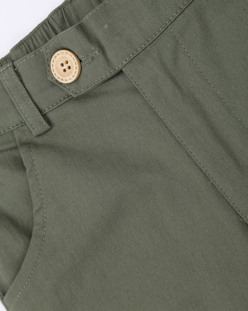 Here To Stay Chino In Safari Detail