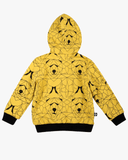 Bear Hunt Fleece Jacket Yellow Back