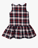 Tartan Peter Pan Dress Back