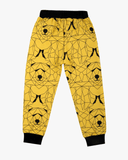 Bear Hunt Cuffed Trackies Yellow Polar Back