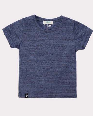 Textured Tee in Blue