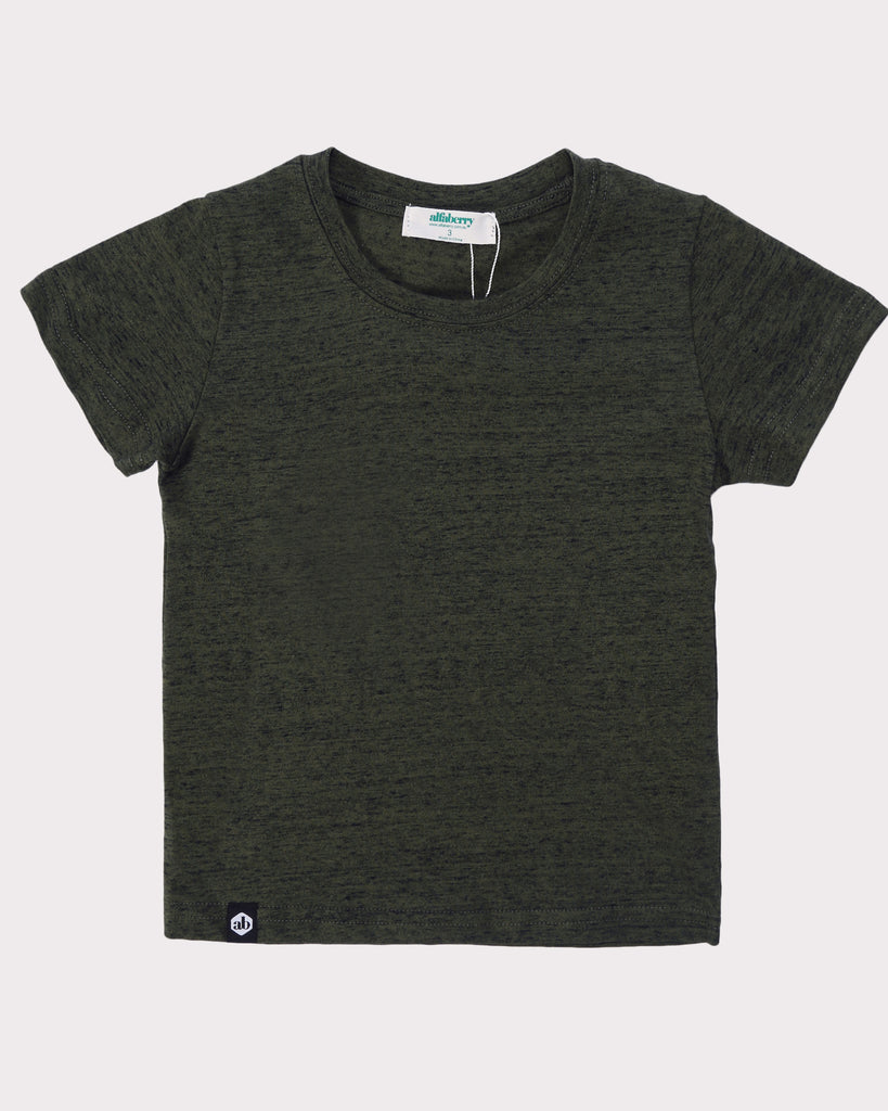 Buddy Tee Green Front
