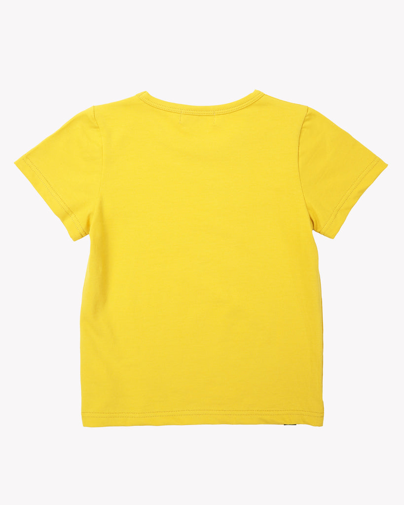 Forever Tee In Mustard Back