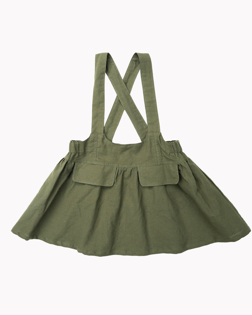 Pinafore In Safari Front