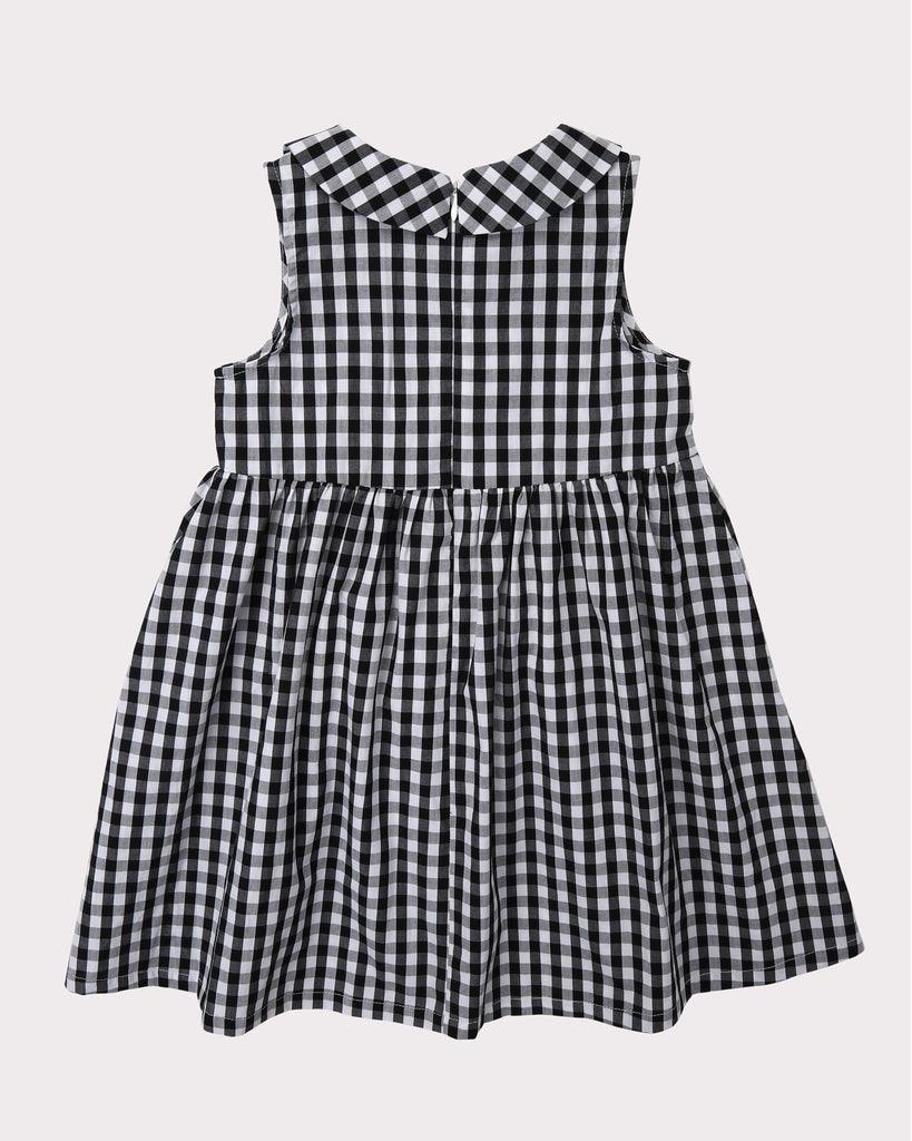 Sunshine Dress In Gingham Back