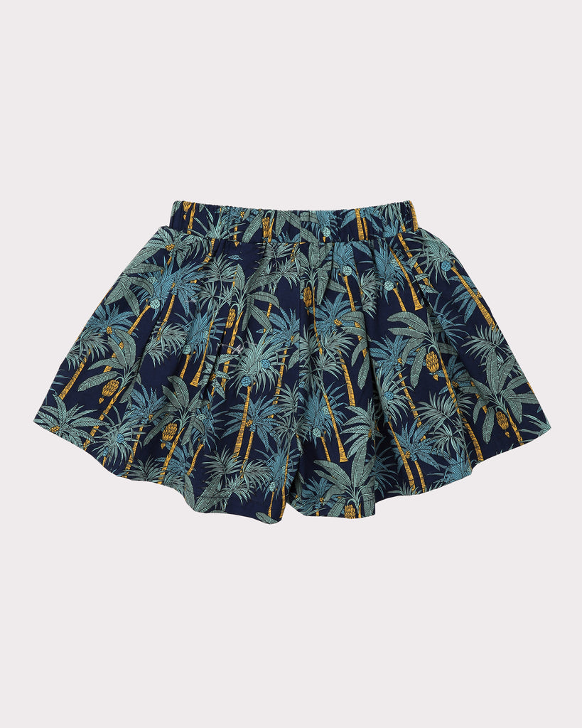 Into the Jungle Skirt In Navy Back