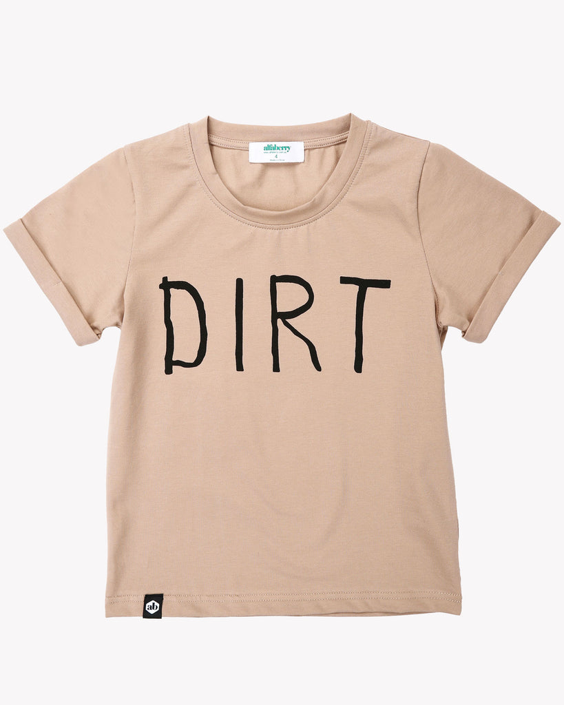 Dirt Tee In Earth Front