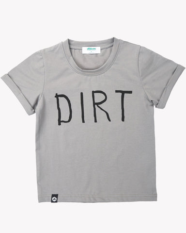 Dirt Tee in Army Green