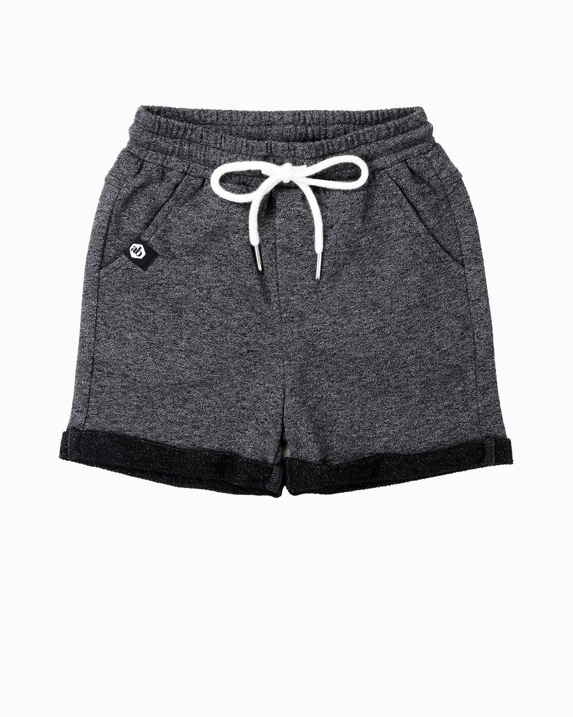 Everyday Short In Charcoal Front