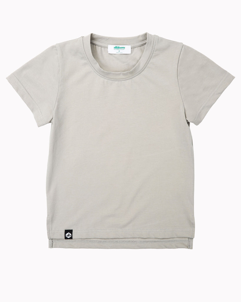 Buddy Tall Tee In Putty Front